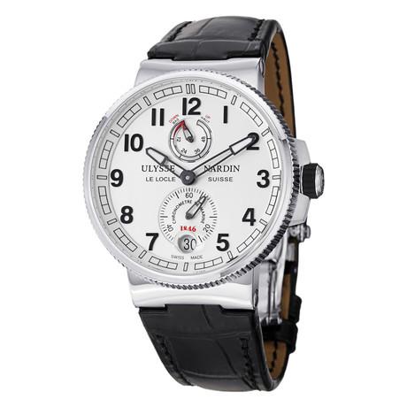 Ulysse Nardin Marine Chronometer Automatic // 1183-126/61