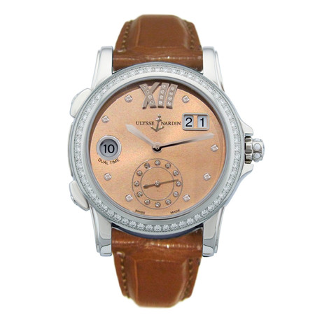 Ulysse Nardin Ladies Classic Dual Time Automatic // 3343-222B/30-09