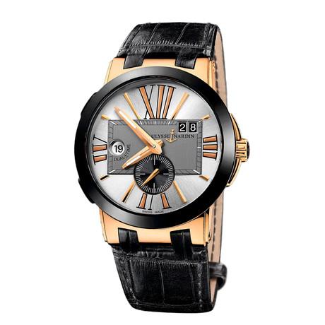 Ulysse Nardin Executive Dual Time Automatic // 246-00-5/421