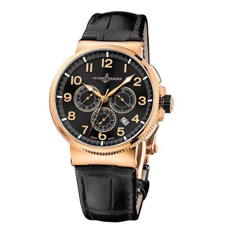 Ulysse Nardin Marine Chronometer Chronograph Automatic // 1506-150/62 // New