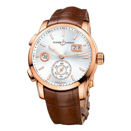 Ulysse Nardin Classic Dual Time Automatic // 3346-126-5/91 // New