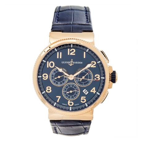 Ulysse Nardin Marine Chronometer Chronograph Automatic // 1506-150/63