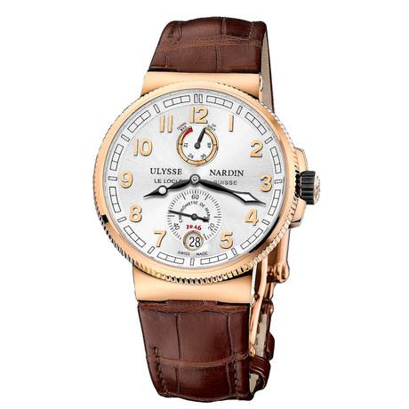 Ulysse Nardin Marine Chronometer Automatic // 1186-126/61