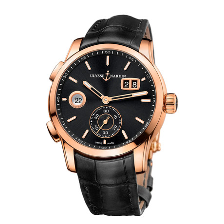 Ulysse Nardin Classic Dual Time Automatic // 3346-126-5/92 // New