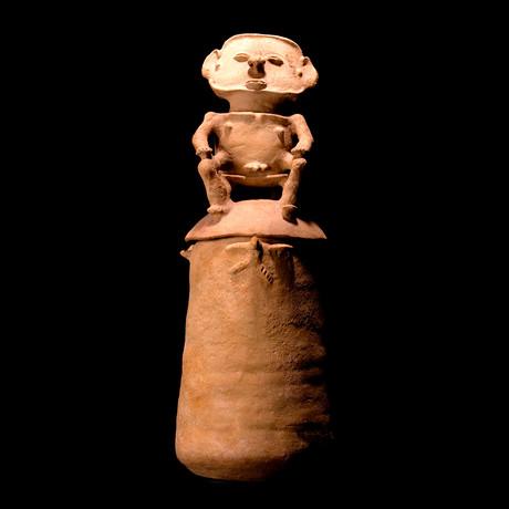 Impressive Rio Magdalena Pre-Columbian Urn // Colombia Ca. 800-1500 CE