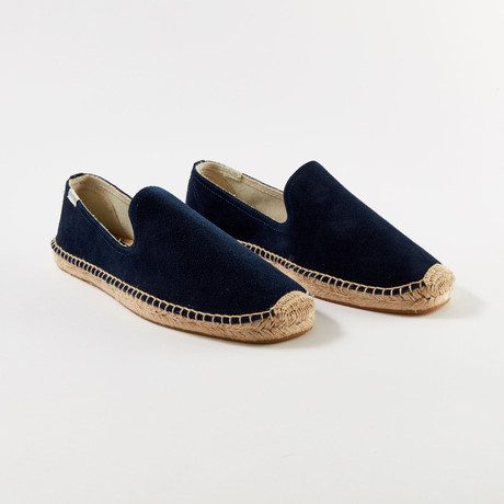 Smoking Slipper // Navy (US: 7)