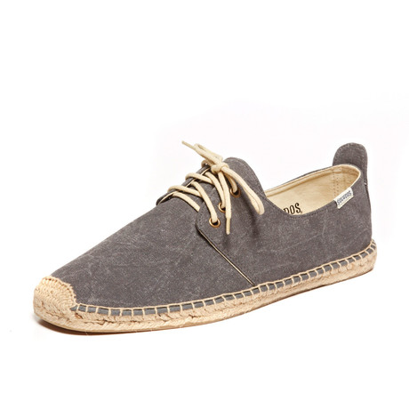 Derby Lace-Up // Dark Gray (US: 7)