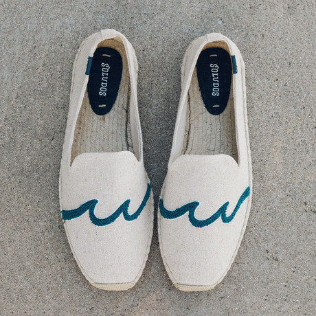 Waves Smoking Slipper // Sand (US: 7)