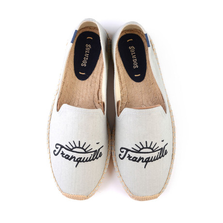 Tranquille Smoking Slipper // Chambray (US: 7)