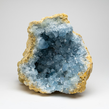 Natural Blue Celestite Cluster // II