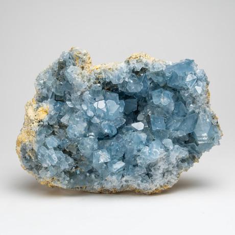 Natural Blue Celestite Cluster // I