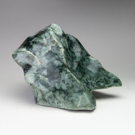 Large Polished Natural Jade Freeform