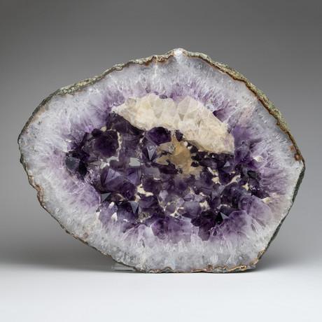 Natural Amethyst Geode Slice