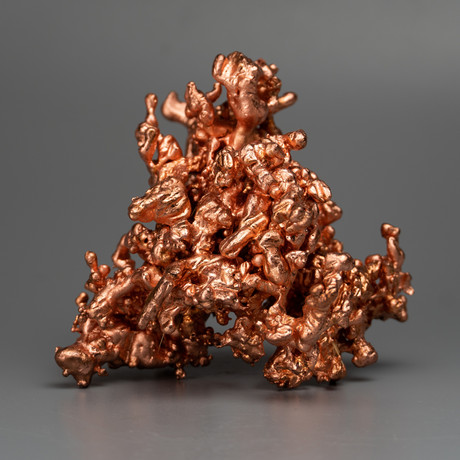 Polished Copper Sculpture