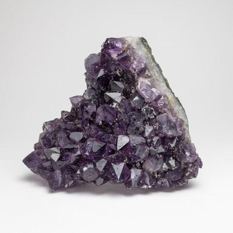 Natural Amethyst Crystal Cluster // III