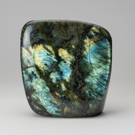 Natural Polished Labradorite Freeform
