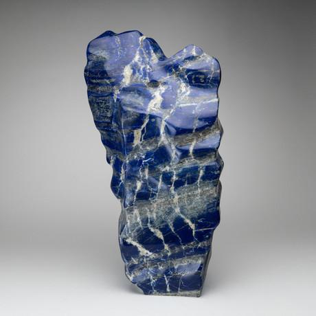 Large Natural Polished Lapis Lazuli Freeform