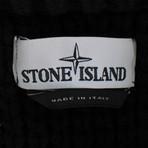 Stone Island // Hideaway Hood Cardigan Jacket // Black (2XL)