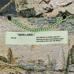 Off White // Lake Print Parka Coat // Multicolor (XS)