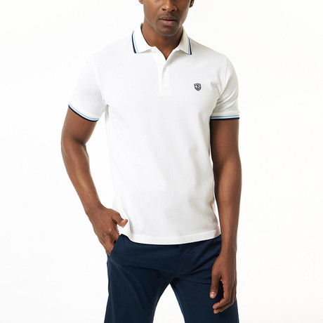 Hector Short-Sleeve Polo // White (XS)