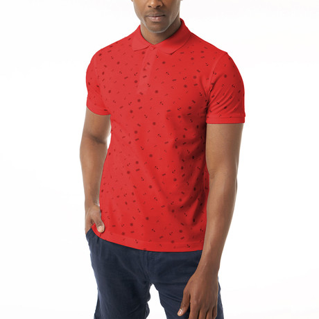 Lee Short-Sleeve Polo // Red (XS)