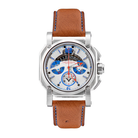 Visconti 2-Squared Chronograph Speedboat Automatic // KW35-02