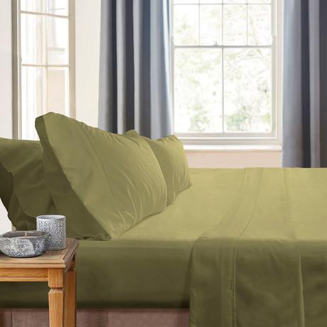 Gabriella Milano Bedsheets // Sage Dots (Twin)