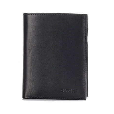 Leather Wallet // Black