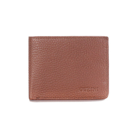 Leather Wallet // Tobacco