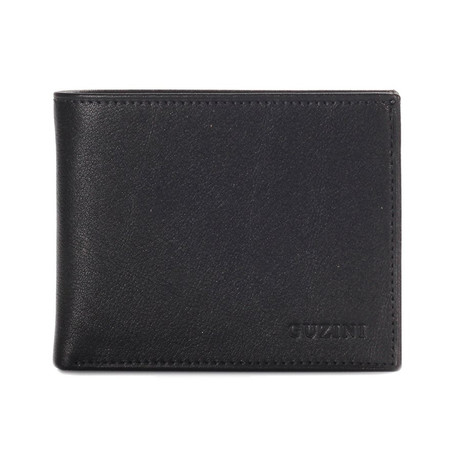 Wallet With Pocket For Coins II // Black