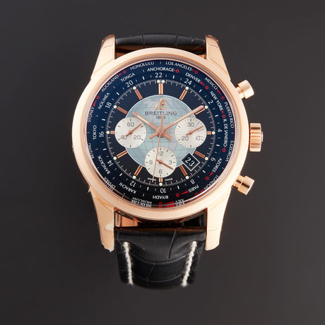 Breitling Transocean Unitime Chronograph Automatic // RB05100U4 // New