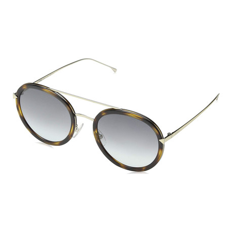 Women's 0156S Sunglasses // Havana Gold + Gray