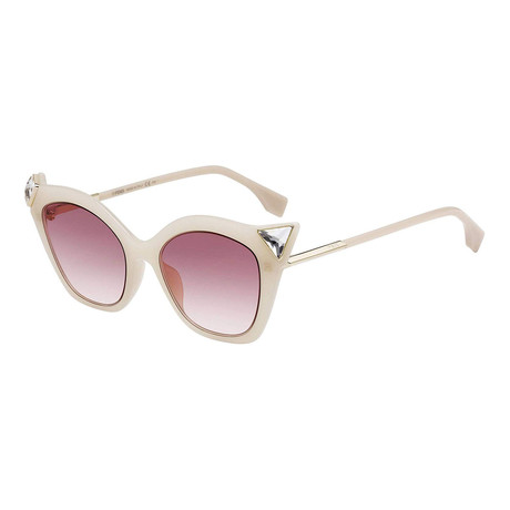 Women's 0357 Sunglasses // Pale Yellow