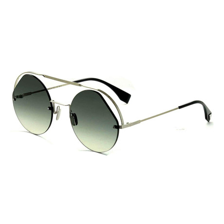 Women's 0325S Round Sunglasses // Gray
