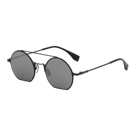 Women's 0291S Round Sunglasses // Black
