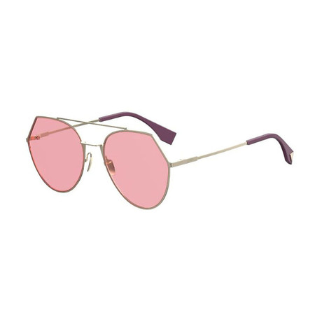 Women's 0194S Sunglasses // Gold II