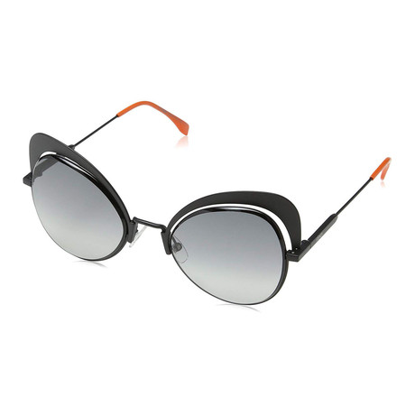 Fendi // Women's 0247 Cat Eye Sunglasses // Black