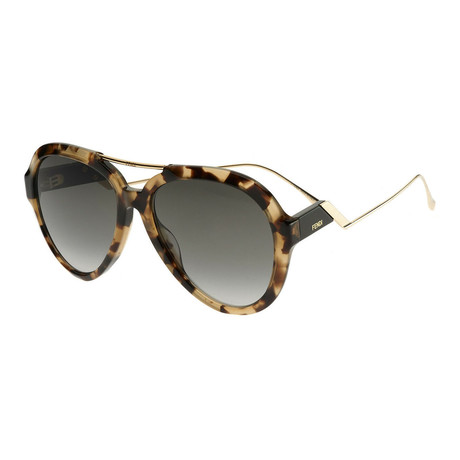 Women's 0322G Sunglasses // Dark Havana