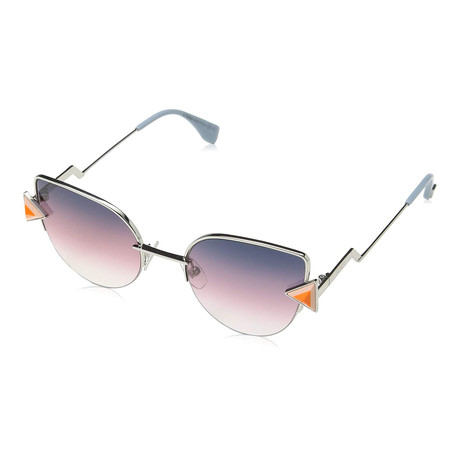 Women's 0242S Sunglasses // Silver