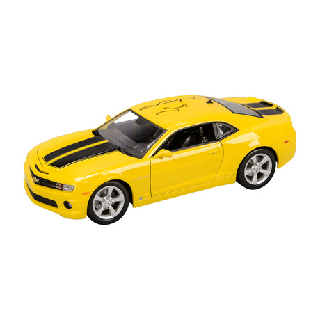 Megan Fox Autographed 1:18 Scale Die-Cast Transformers Bumblebee 2010 Chevy Camaro