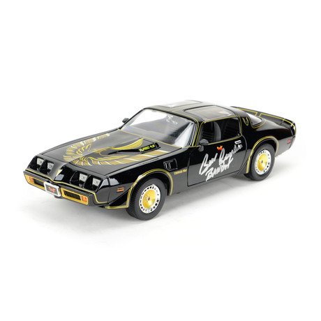 Burt Reynolds Autographed 1:18 Scale Die-Cast Smokey & The Bandit II Pontiac Trans Am