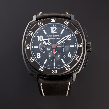 JeanRichard Aeroscope Chronograph Automatic // 6065021B612HD60 // Store Display