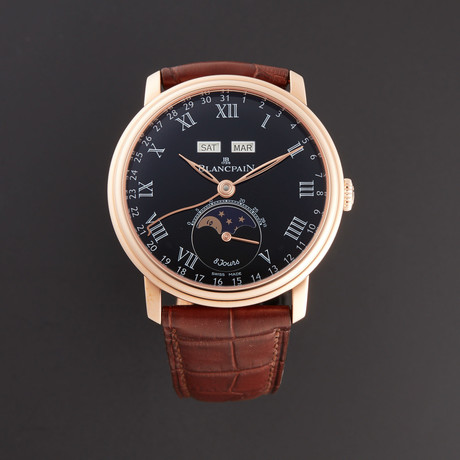 Blancpain Villeret 8 Days Automatic // 6639-3637-55B // New