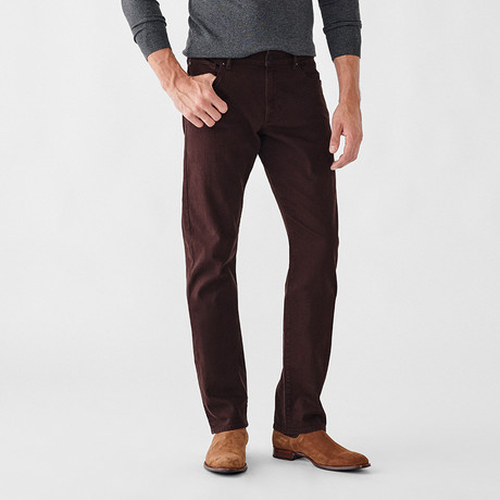 Russell Slim Straight Jeans // Cabernet (29WX30L)