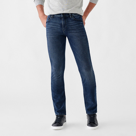 Russell Slim Straight Jeans // Blue (29WX30L)