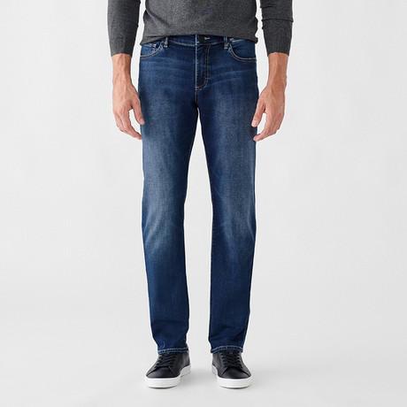 Russell Slim Straight Jeans // Cartel (29WX30L)