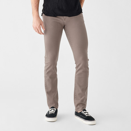 Russell Slim Straight Jeans // Porcini (29WX30L)