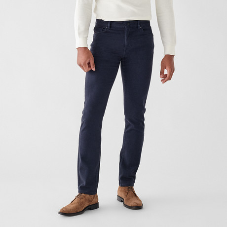 Russell Slim Straight Jeans // Navy (29WX30L)