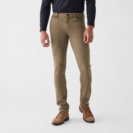 Nick Slim Jeans // Tan (29WX30L)