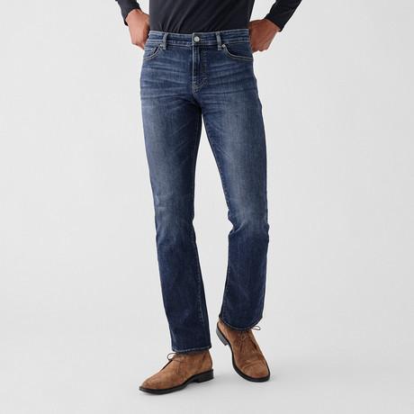 Avery Straight Jeans // Estuary (29WX30L)